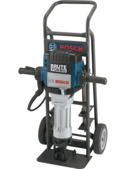 Bosch Turbo Jackhammer with Cart
