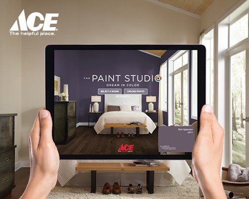 Paint color visualizer with Ace Hardware - Bozeman, Montana
