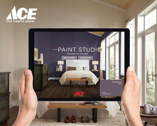 Paint color visualizer with Ace Hardware - Bozeman, Montana