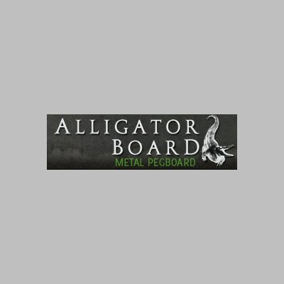 Alligator Board Metal Pegboard