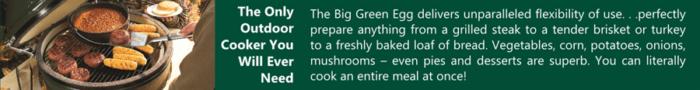 green egg grill banner bozeman montana