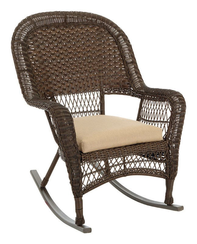 Chesapeak Wicker Rocker thumbnail
