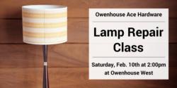 lamp repair Bozeman Montana