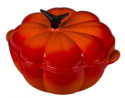 le creuset enameled pumpkin cocotte bozeman montana