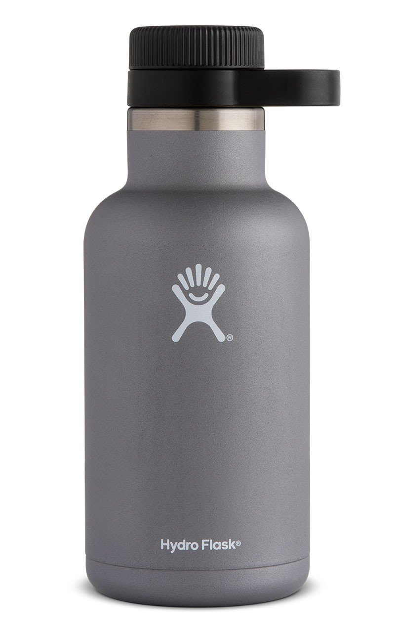 gray growler by hydro flask sold at ace hardware