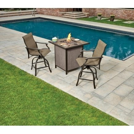 Living Accents Monaco Fire Pit Seating Set thumbnail