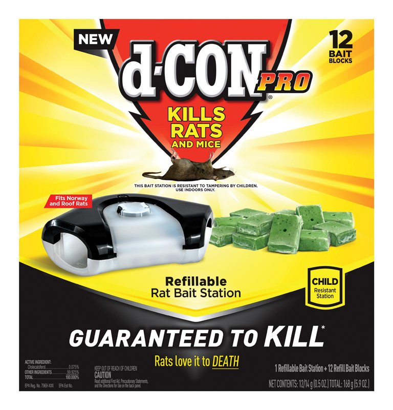 D-Con For Mice/Rats Pest Control thumbnail
