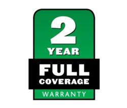 snowblower 2-year warranty
