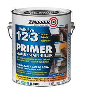 Zinsser Bulls Eye 123 White Primer thumbnail