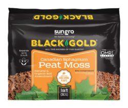 black gold Canadian Sphagnum Peat Moss bozeman montana