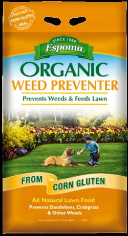 Espoma Organics organic weed preventer bozeman montana