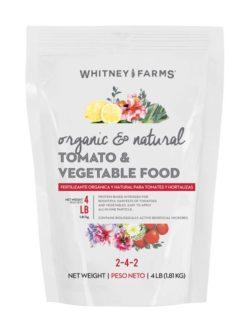 whitney farms organic tomato vegetable food at Owenhouse ACE Hardware - Bozeman, Montana