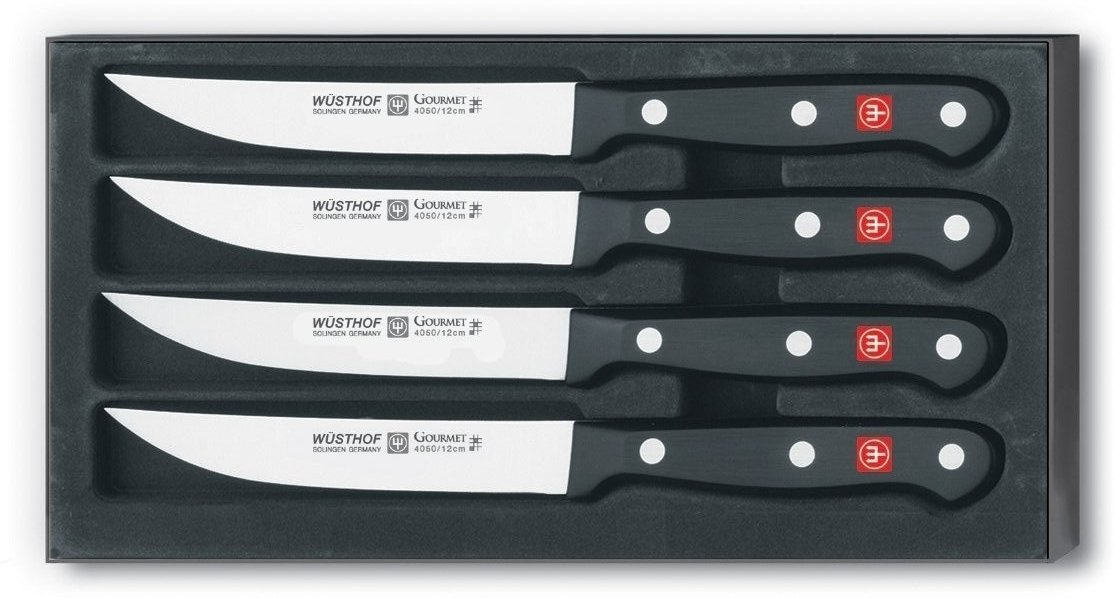 Gourmet Steak Knife Set 4 Piece thumbnail