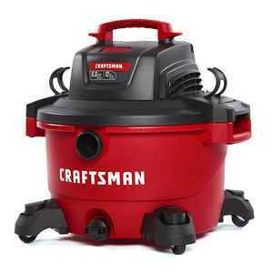 Craftsman 12 gal. Corded Wet/Dry Vacuum Red thumbnail
