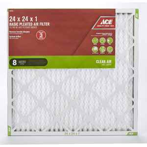 Ace Basic Pleated Air Filters, Assorted Sizes thumbnail