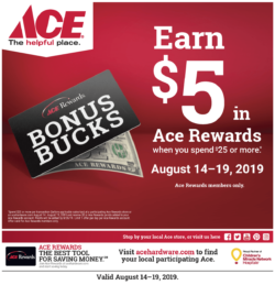 ace the helpful place rewards