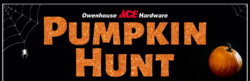 owenhouse ace hardware pumpkin hunt halloween - Bozeman, Montana