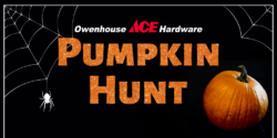 pumpkin hunt owenhouse ace hardware - Bozeman, Montana