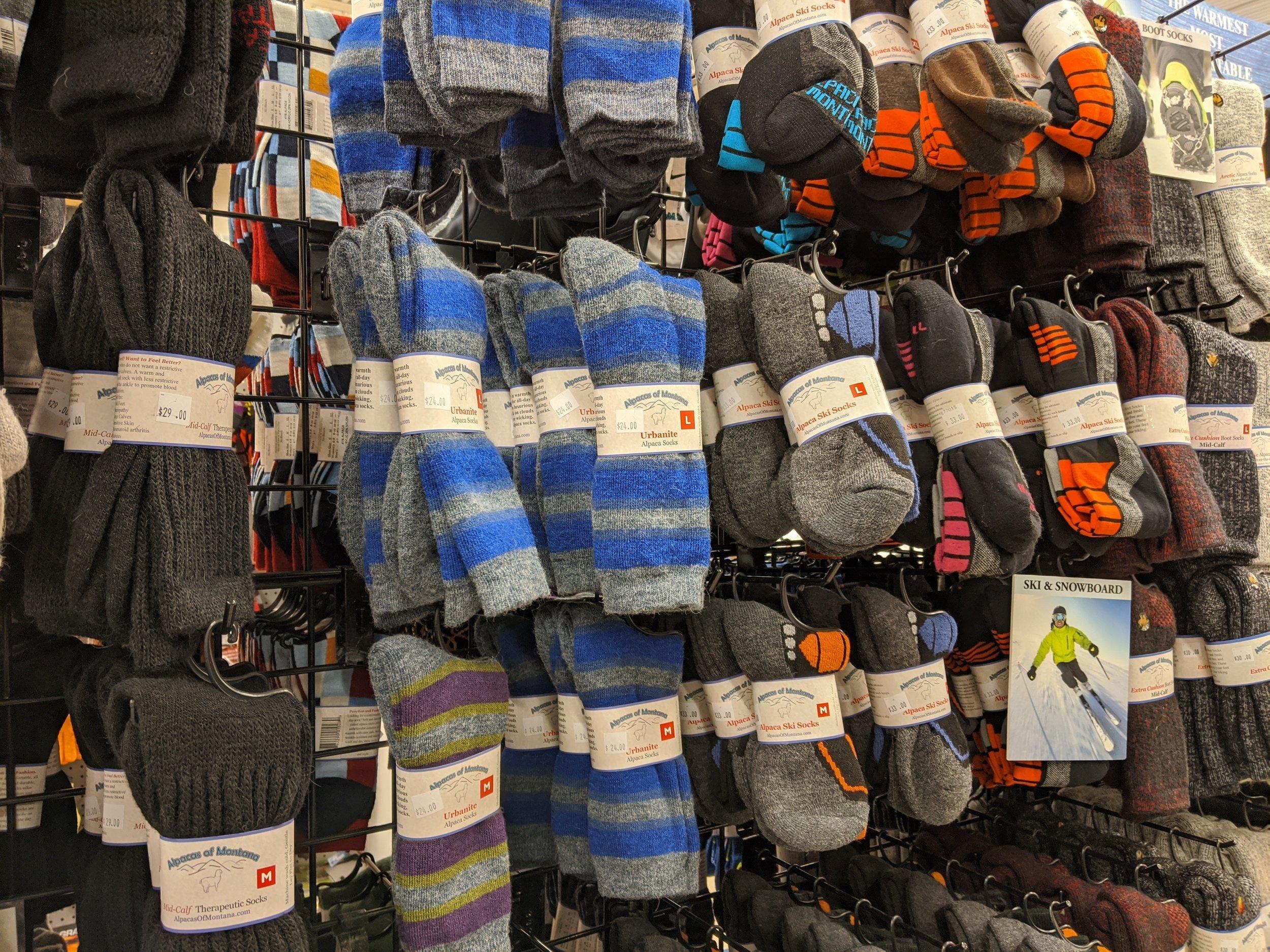 owenhouse ace hardware alpaca wool socks