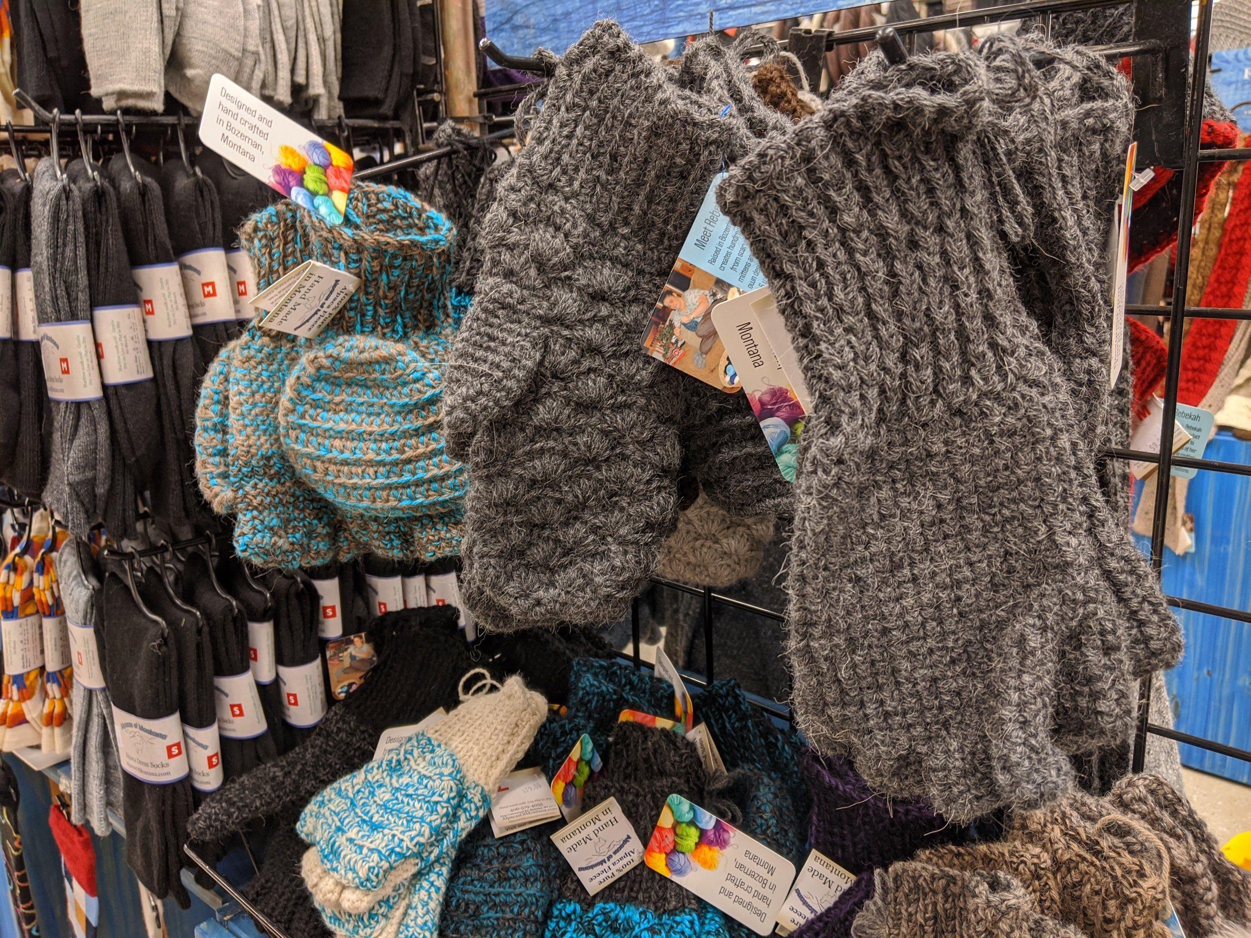 wool gloves sale owenhouse ace hardware - Bozeman, Montana