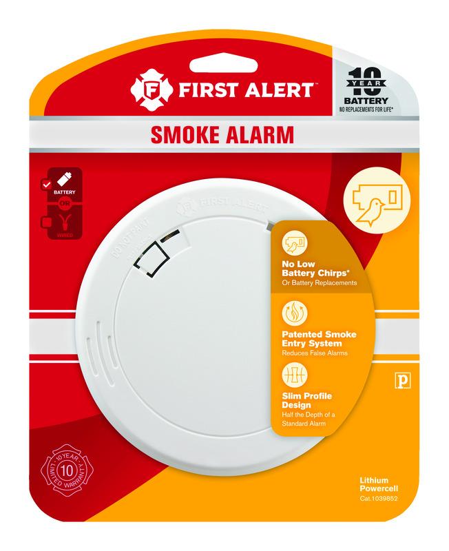 First Alert Battery-Powered Smoke Alarm thumbnail