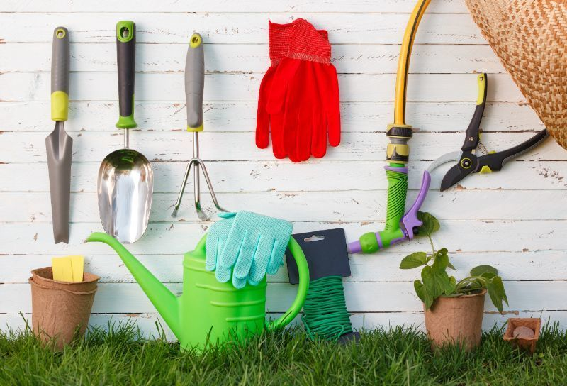 Basic garden tools on Owenhouse Ace Hardware