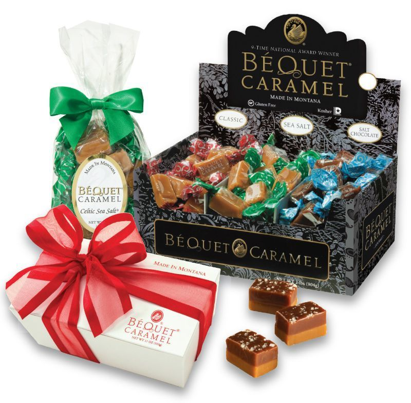Béquet Confections caramel candies at Ownehouse Ace Hardware Bozeman