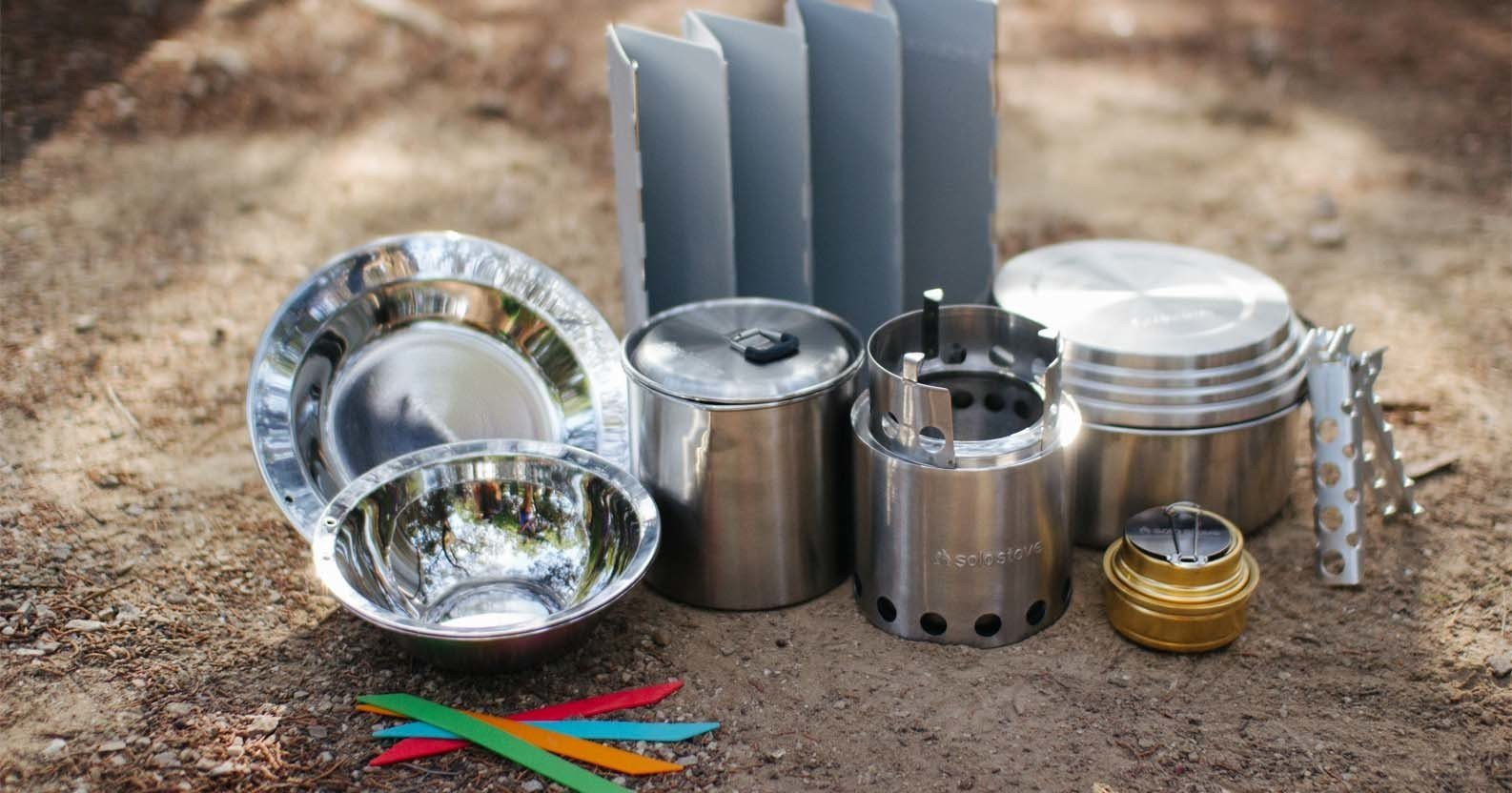 solo stove accessories and camping gear