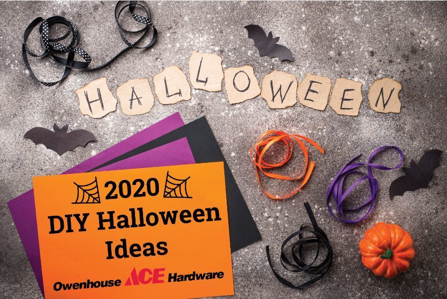 2020 Halloween DIY Ideas with Ace Hardware of Owenhouse - Bozeman, Montana
