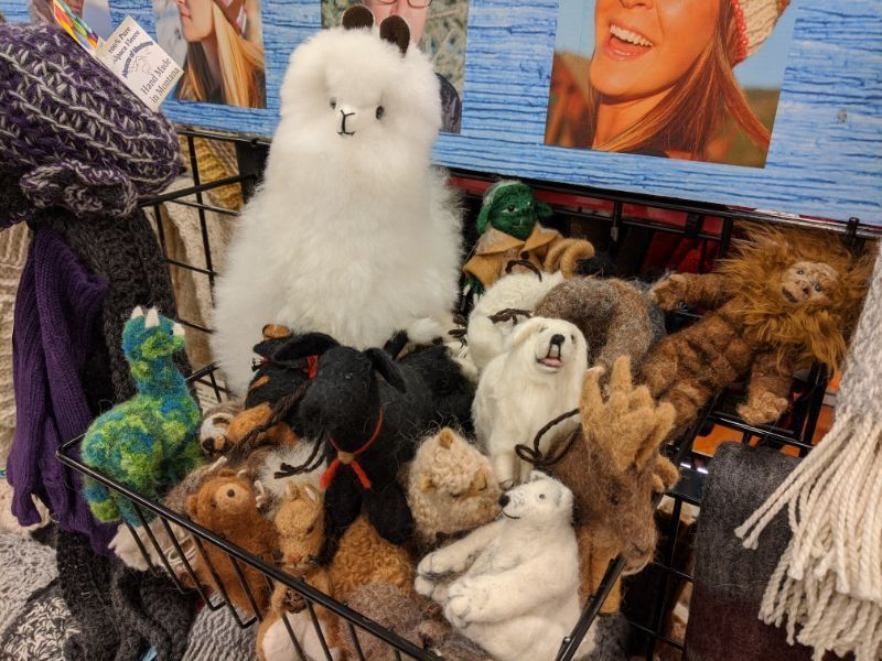 toys made from alpaca wool - Bozeman, Montana