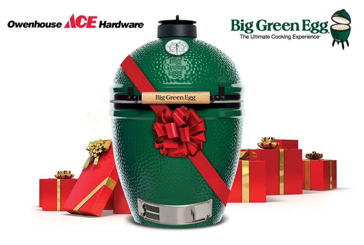 Big Green Egg Giveaway At Owenhouse Ace Hardware