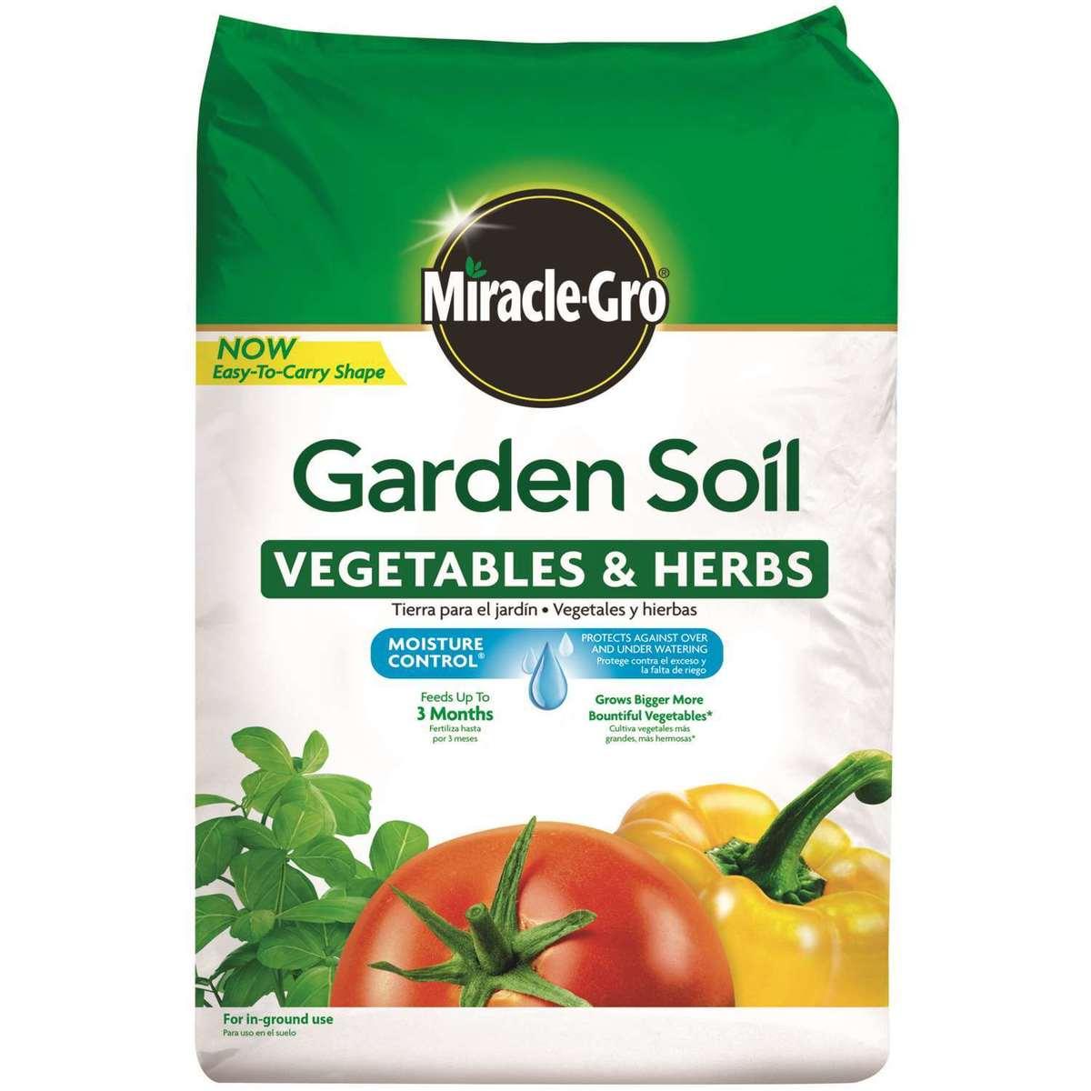 Miracle‐Gro® Garden Soil, 1.5 Cu. Ft. thumbnail