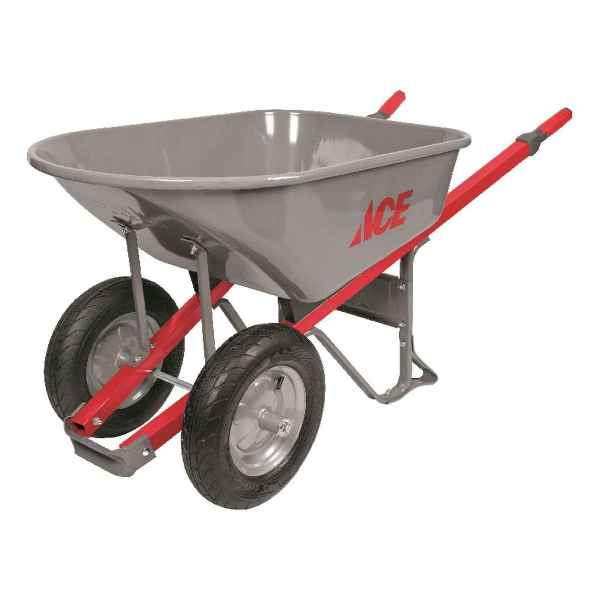 Ace 6 Cu. Ft. Steel Wheelbarrow thumbnail