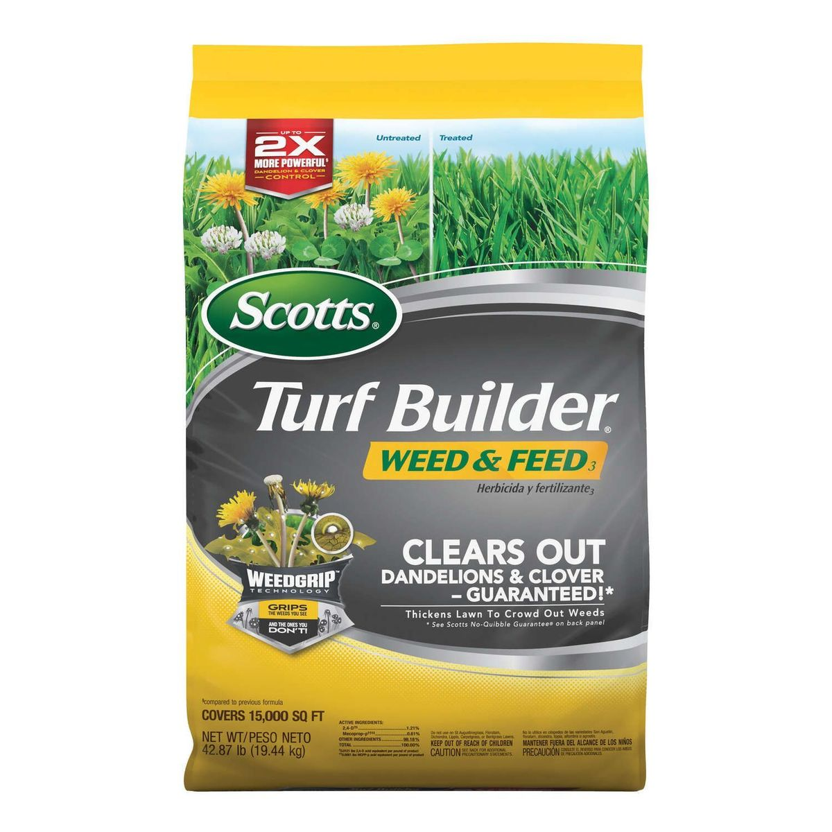 Scotts® Turf Builder Weed & Feed thumbnail