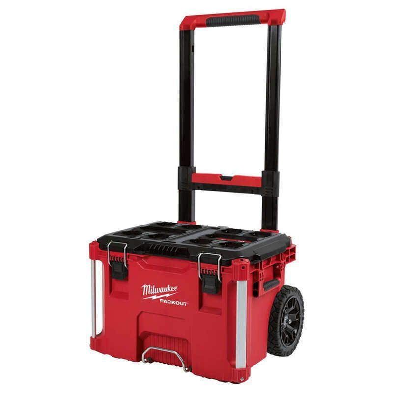 Milwaukee® PACKOUT™ Impact‐Resistant Rolling tool Box thumbnail