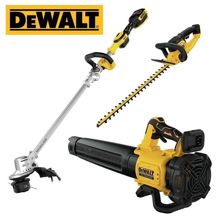 DEWALT® 20 Volt MAX XR® Lithium-Ion Handheld Blower, String Trimmer or Hedge Trimmer thumbnail
