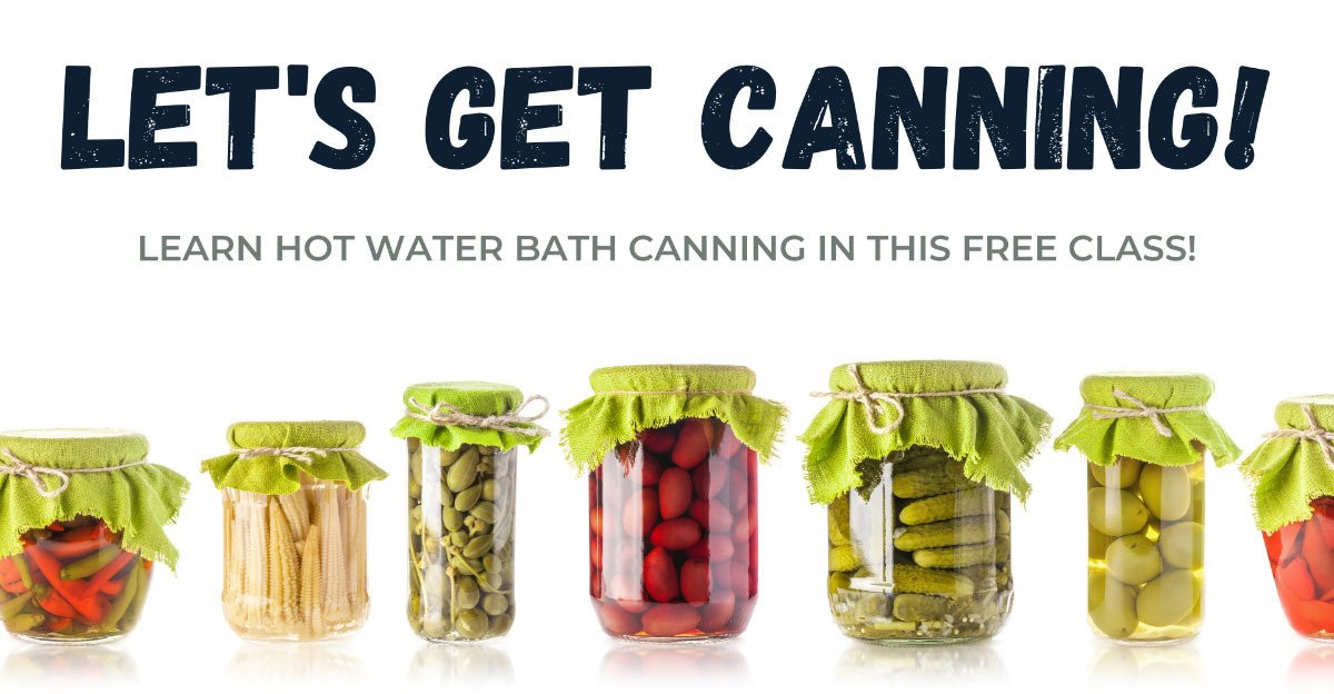 Owenhouse Canning Class