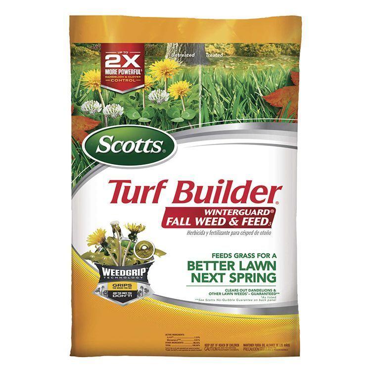 Scotts® Turf builder® WinterGuard® Fall Weed & Feed thumbnail