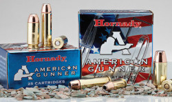 Picture of two boxes of Hornady American Gunner shells