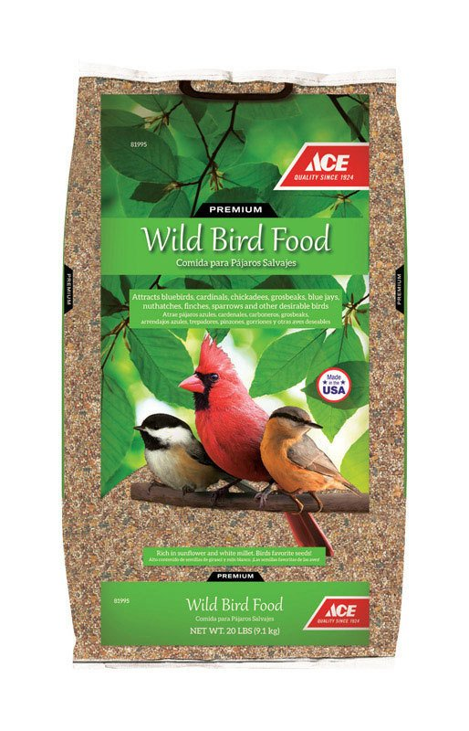 Ace Wild Bird Food, 20 lb bag