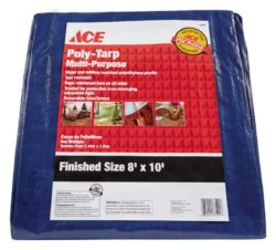 Ace 8' x 10' Poly Tarp Reversible