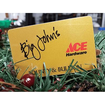 Big John's Ace Gift Card thumbnail