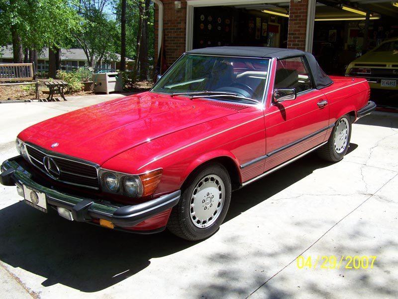 1988 Mercedes thumbnail