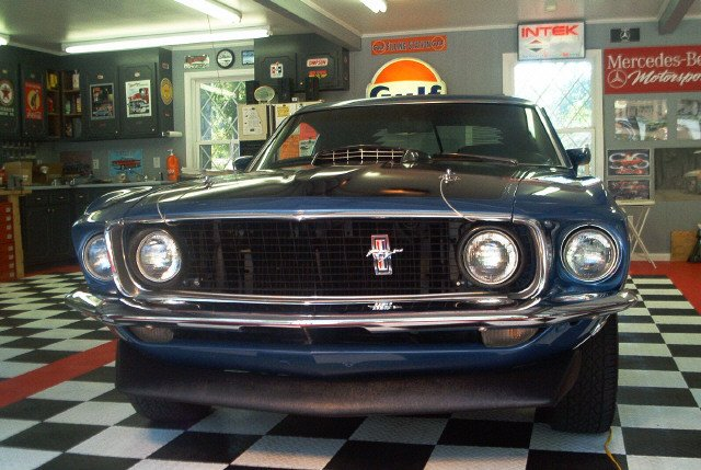 1969 Mustang Mach 1 4-speed-SOLD thumbnail