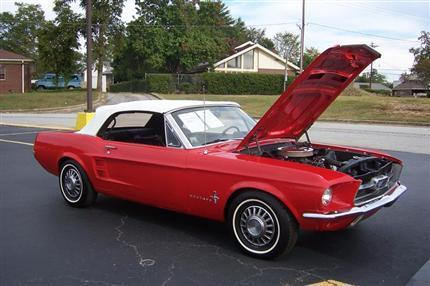 1967 Mustang Convertible-SOLD thumbnail