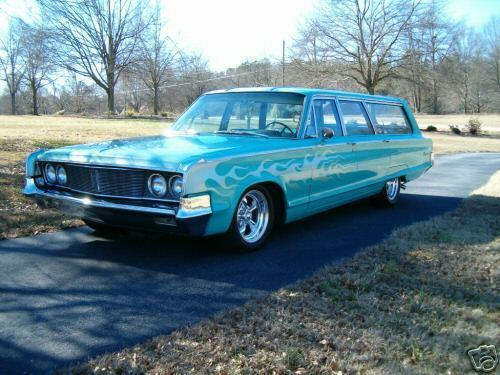 1965 Custom Chrysler Station Wagon-SOLD thumbnail