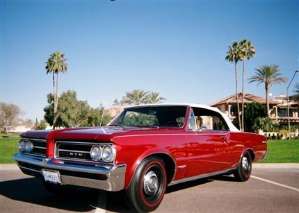 1964 GTO 4-speed Convertible thumbnail