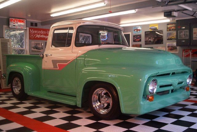 1956 Custom Ford Truck-SOLD thumbnail