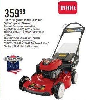 Toro Self-Propelled Mower thumbnail