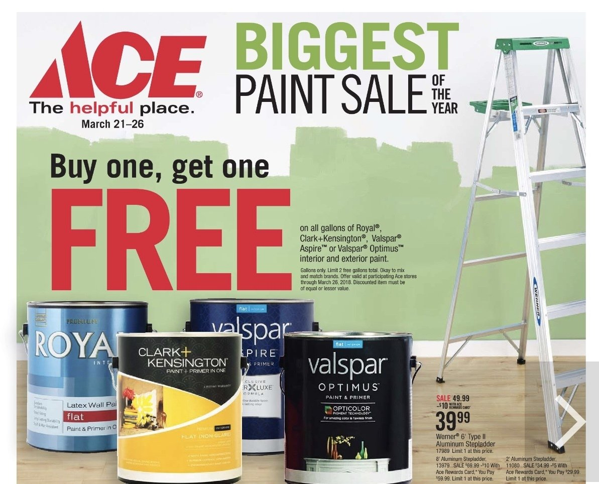 Biggest Paint Sale of the Year! thumbnail